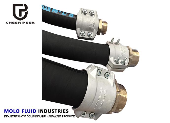 Aluminum Safety Clampsen 14420 3din 2817 Camlock Coupling Molofluid